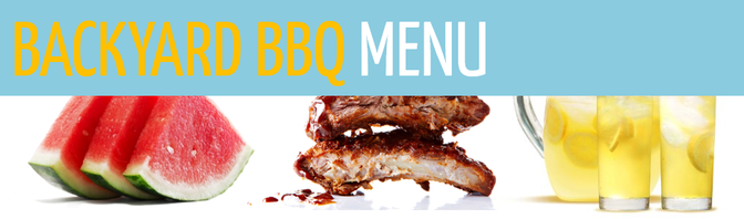 Paleo BBQ Meal Planning