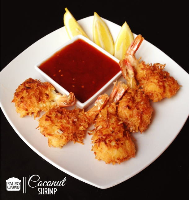 Paleo Coconut Shrimp With Sweet And Sour Sauce Paleo