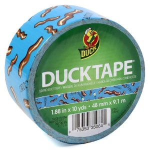 Bacon Duck Tape