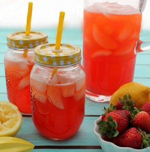 Paleo Strawberry Lemonade Recipe