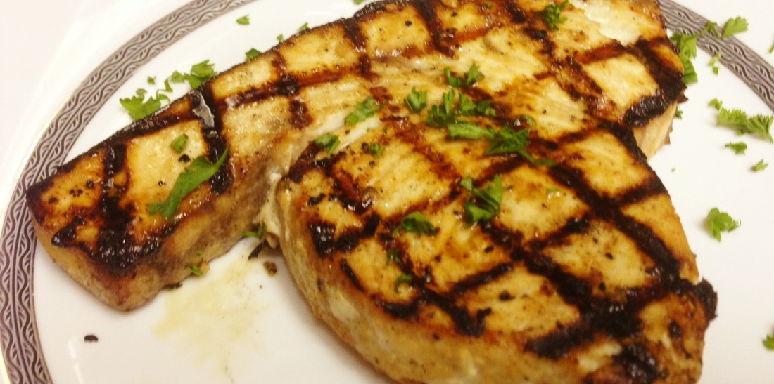 Grilled swordfish for Sword fish recipes
