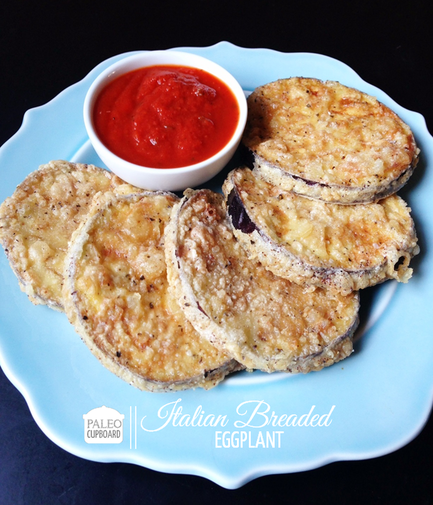 Fried Eggplant And Mozzarella With A Roasted Marinara Dipping Sauce ...
