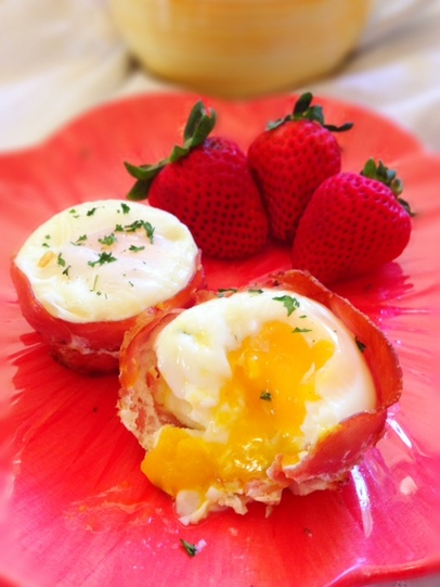 Prosciutto Egg Cup Recipe - Paleo Cupboard